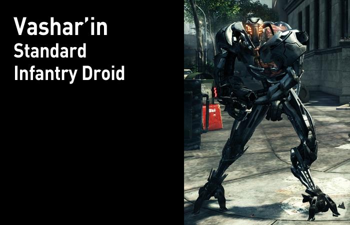 Typical Enemy Units StandardInfantryDroid